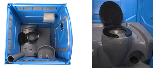 Portable Toilet Hire Interior