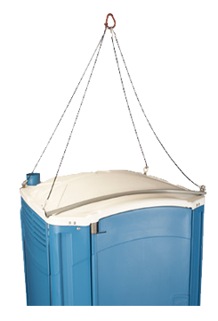 Portable Toilet Lifting Frame