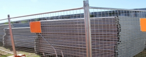 Temporary Fencing (Herras) for Building Sites and Events.