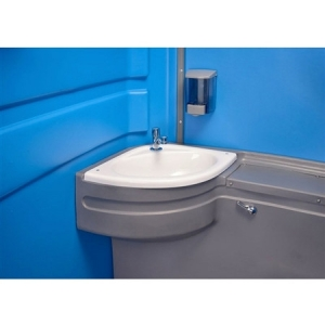 Mains portable toilet sink