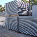 Hoarding fence hire