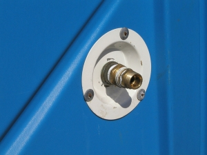 Water inlet for Portable Toilet