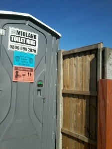 Warwickshire portable toilet hire Rugby and Coventry.