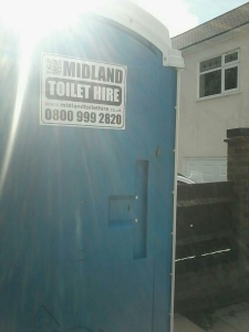 Portable Toilet Hire in Rugby Warwickshire
