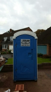 Hire portable toilets in Worcestershire
