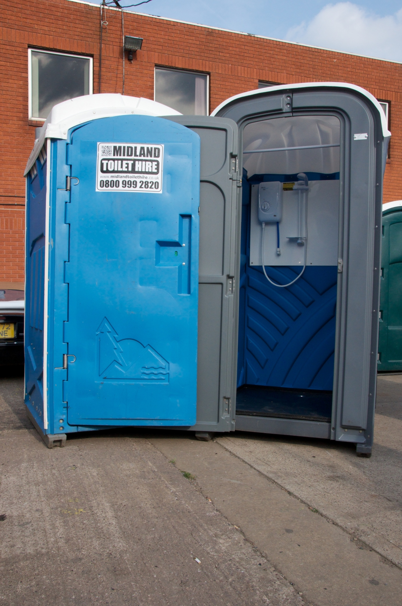 Dudley portable toilet hire