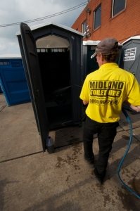 How important the portable toilets are at the construction site