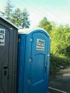 Portable toilet services
