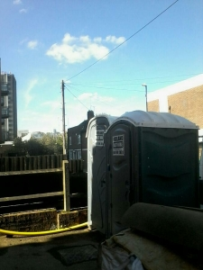 Warwickshire portable toilet hire Rugby.