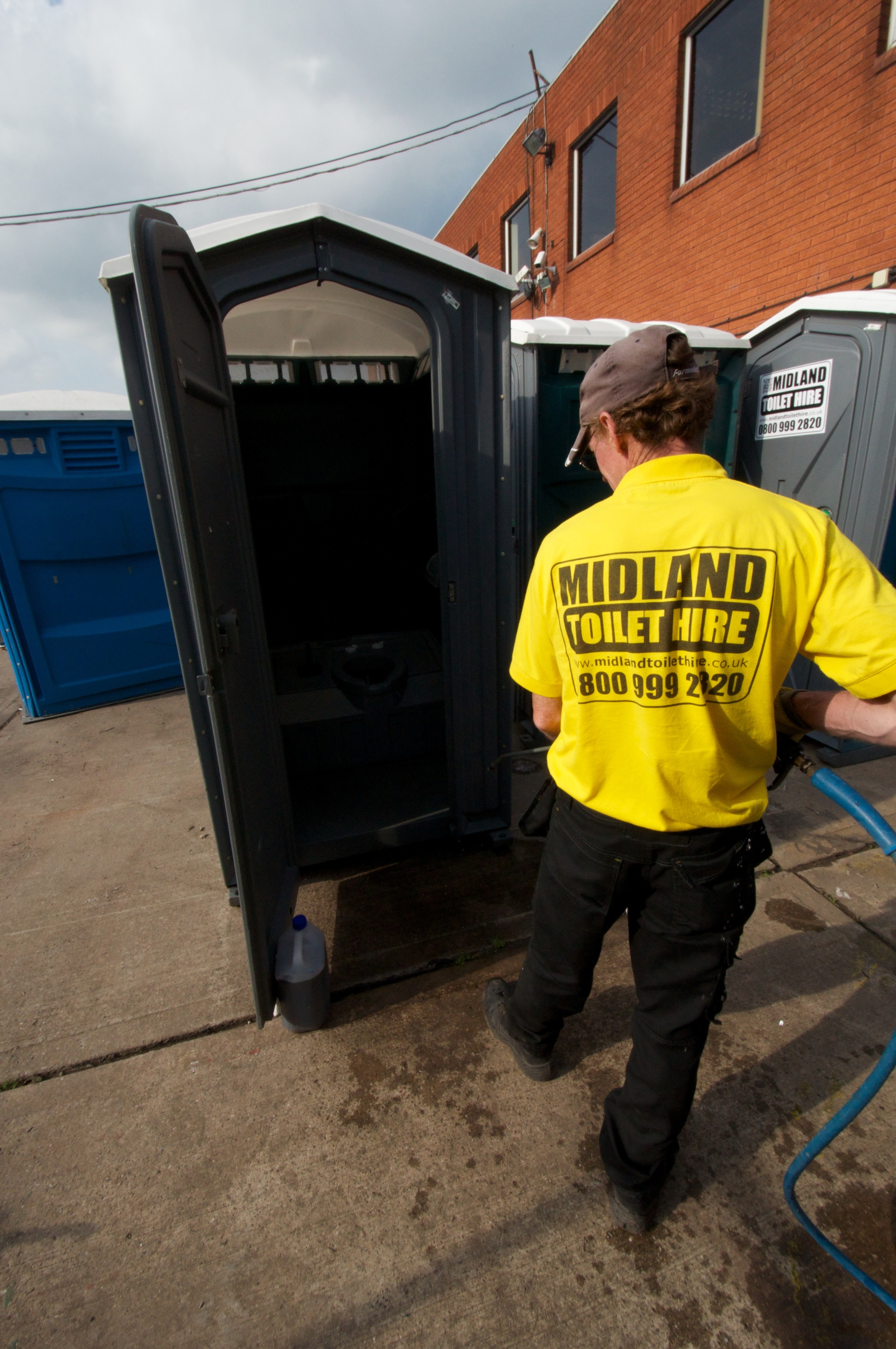 Tamworth portable toilet hire