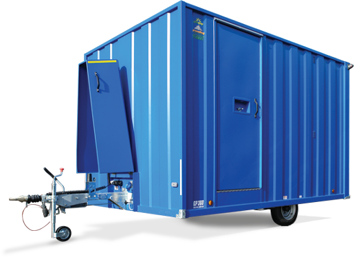 Portable Toilet and Ground Hog Welfare Unit Hire in Tamworth