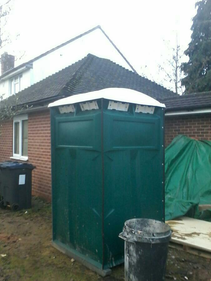 portable toilet Leicester.